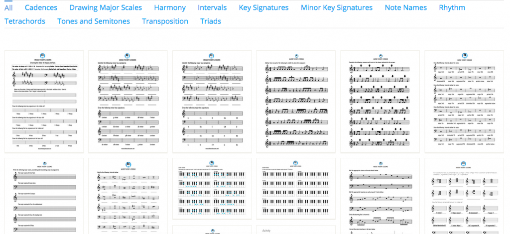 New Free Music Theory Worksheet Find Music Matters Blog