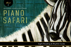 Piano Safari Sight Reading and Rhythm Cards